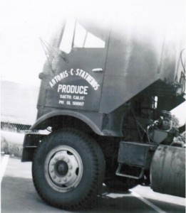 Dad's Co Truck-Antonis C. Statheros Eventually Became T&T Produce.