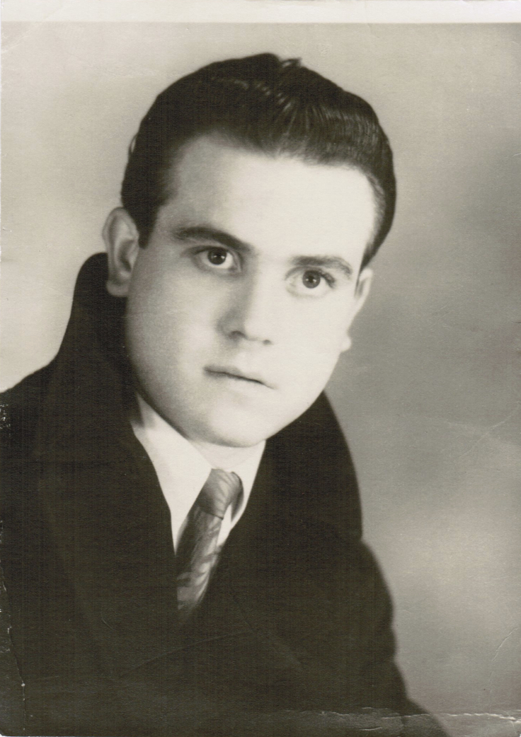 Dad's Passport Photo (19 yrs old)